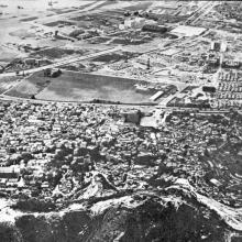 Kai Tak airport site given up when new runway built-early1960s