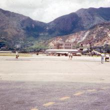 Kai Tak from tarmac.
