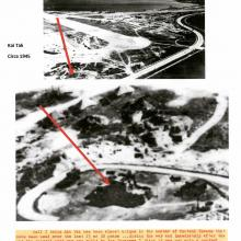 Kai Tak wartime Japanese control tower location-1945