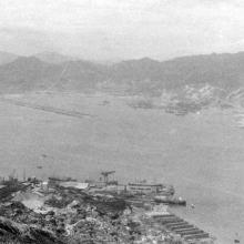 Kai Tak from Mt Parker.