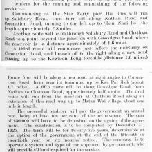 Kowloon-Proposed-Tramways- 1923- Description of Scheme