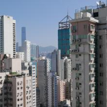 View of Sai Ying Pun