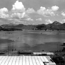 LSW view to Lion Rock 1952.
