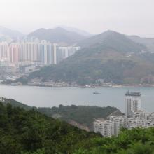 Sai Wan fort Lye Mun from top of position