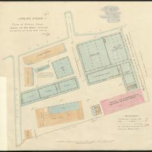 Plan of Naval Dockyard 1863-64