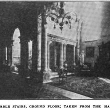 Marble Hall-Interior-showing marble colonnades in the G/F Hall