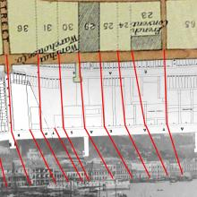 Maps of Wanchai seafront, 1897 & 1903