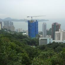 View from HK trail below High West