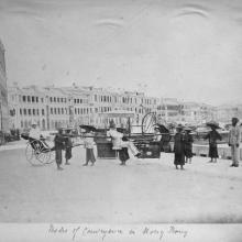 c.1880. Modes of conveyance in Hong Kong