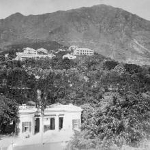 View south from Government House