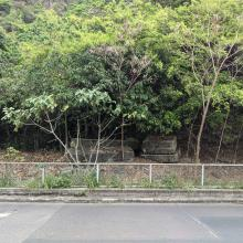 View of DEL ruins from Lee Nam Road