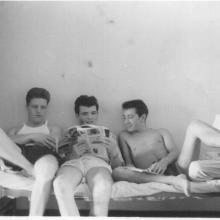 Paul, Unknown, JimMcCabe, Lew Cox.