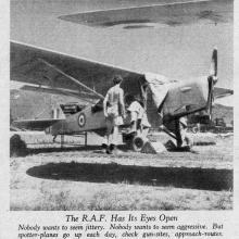 RAF-Auster spotter aircraft preparation-New Territories-October 1949