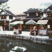 Sung Dynasty village shops