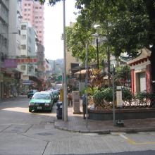 Tai Po Market On Fu Road 2006