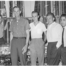 Tailors Kowloon, Jim 3rd from right