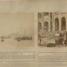 5. Destruction of the Canton Wharf & 6. Destruction of the Praya