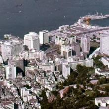 Victoria Harbour from Peak with HMS Tamar at Top of Picture.jpg
