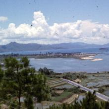 View From Lookout At Border Across to China
