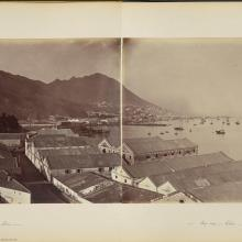 View looking West towards Central from Morrison Hill 1870s