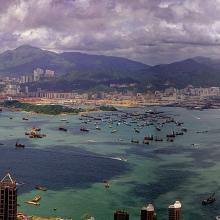 West Kowloon-reclamation-Panorama