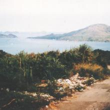 Top of the old camp road