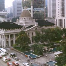 Old Supreme Court Building from Mandarin balcony