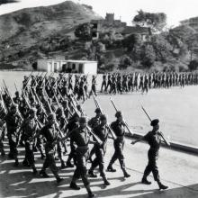 Lyemun parade ground 1952.