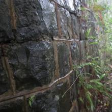 the front wall