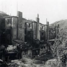 Shaukiwan below Lyemun camp road 1952.