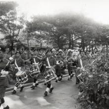 Ghurka Band on Queens Birthday Parade
