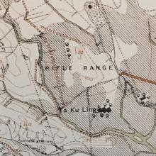 1924 Map of Rifle Range