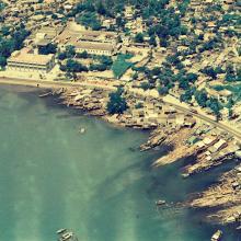 Tuen Mun from the air 1972