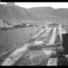 Building a slip at Taikoo Dockyard